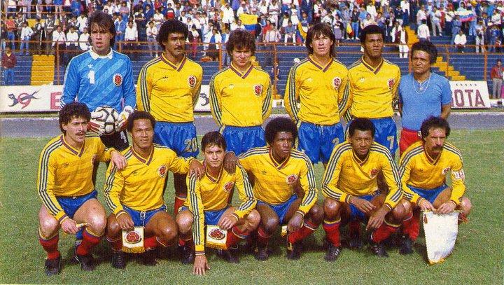 Resultado de imagem para seleccion colombia 1986