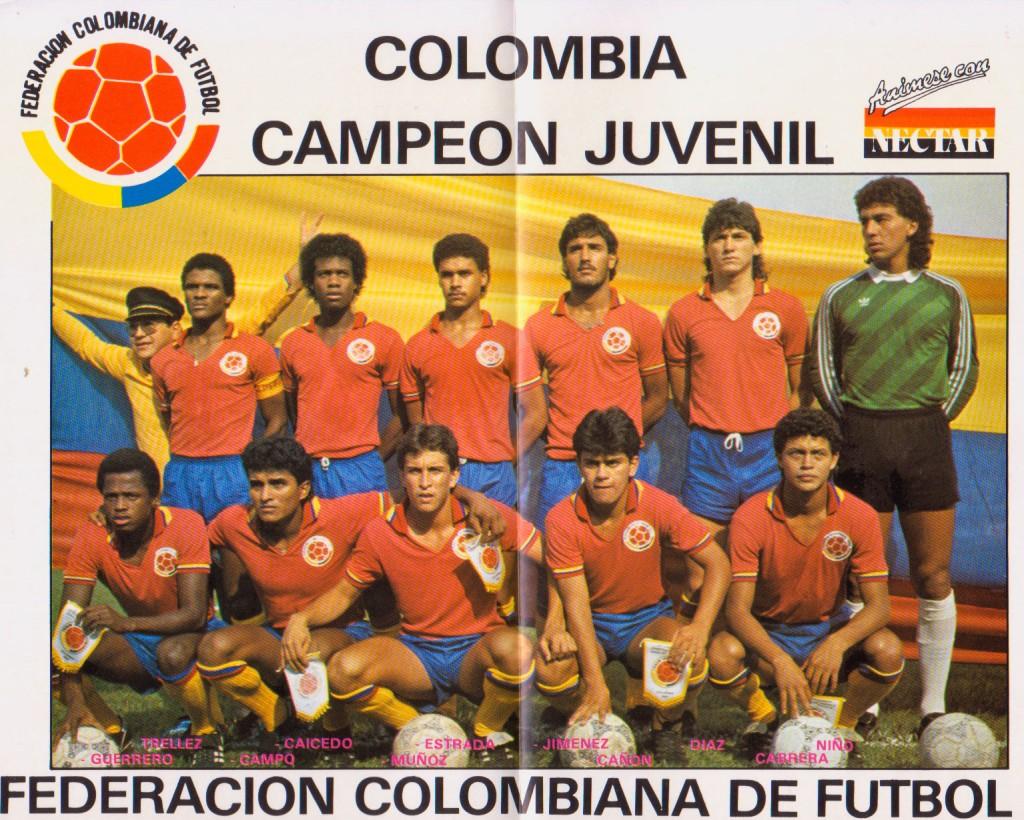 ColombiaCampeónJuvenil1987