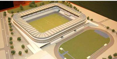 Una más para la bienal de maquetas de estadios colombianos.